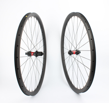 Farsports FS29T-30-30 DT240 Professional 29er MTB bicycle carbon wheels with tubeless, 15 100 12 142 via axle bike mountain carbon fiber
