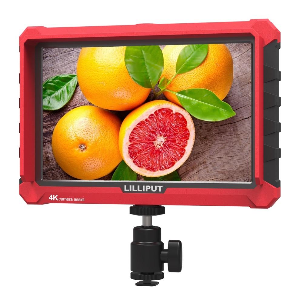 "LILLIPUT A7S 7"" Ultra Slim IPS Full HD 1920*1200 4K HDMI On camera Video Field Monitor for Canon Nikon Sony DSLR Video Camera Monitor     - title="