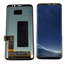 Для samsung galaxy S8 ЖК Дисплей Сенсорный экран планшета Ассамблеи для samsung S8 G950 G950F G950U G950W ЖК-дисплей с рамкой
