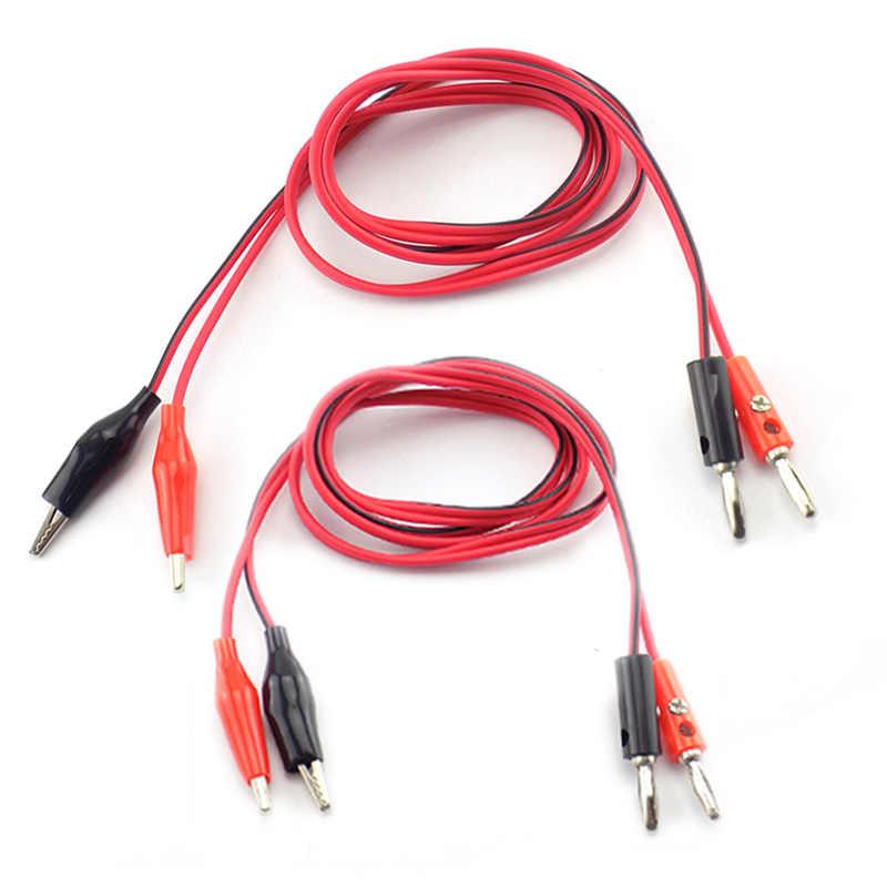 Plug montaje de cable Bla 30 a 4mm Niquelado contactos Conector de prueba de plátano