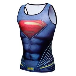 Compression shirt batman vs superman 3d printed tank top men gymshark bodybuilding and fitness men s.jpg 250x250