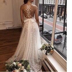Biały Sexy prześwitująca Sukienka elegancka z długim rękawem kobiety odzież Vestidos szata Femle długa Sukienka Kleider Sukienka moda ubrania 3
