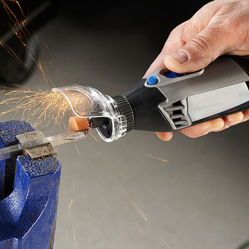 New A550 Shield Rotary Tool Attachment Accessories For Mini Drill Mini Grinder Cover Case Dremel tools Accessory CP400 life over cancer