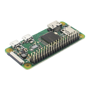 Image 5 - פטל Pi אפס W / WH מראש ריתוך הלחמה 40pin GPIO כותרת 512M RAM מובנה WiFi & bluetooth פטל Pi אפס Pi 0