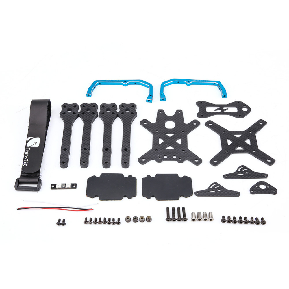 High Quality Carbon Fiber DIY Frame Kit For 215MM FPV Racing Quadcopter Drone FPV Quadcopter Frame RC Accessories