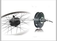Мощный безщеточный 500 Вт концентратора двигателя комплекты с Диски и спицы для электрический велосипед