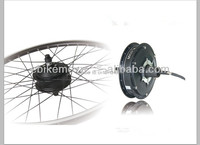 Powerful brushless 500W hub motor kits with Rims and Spokes for electric bike