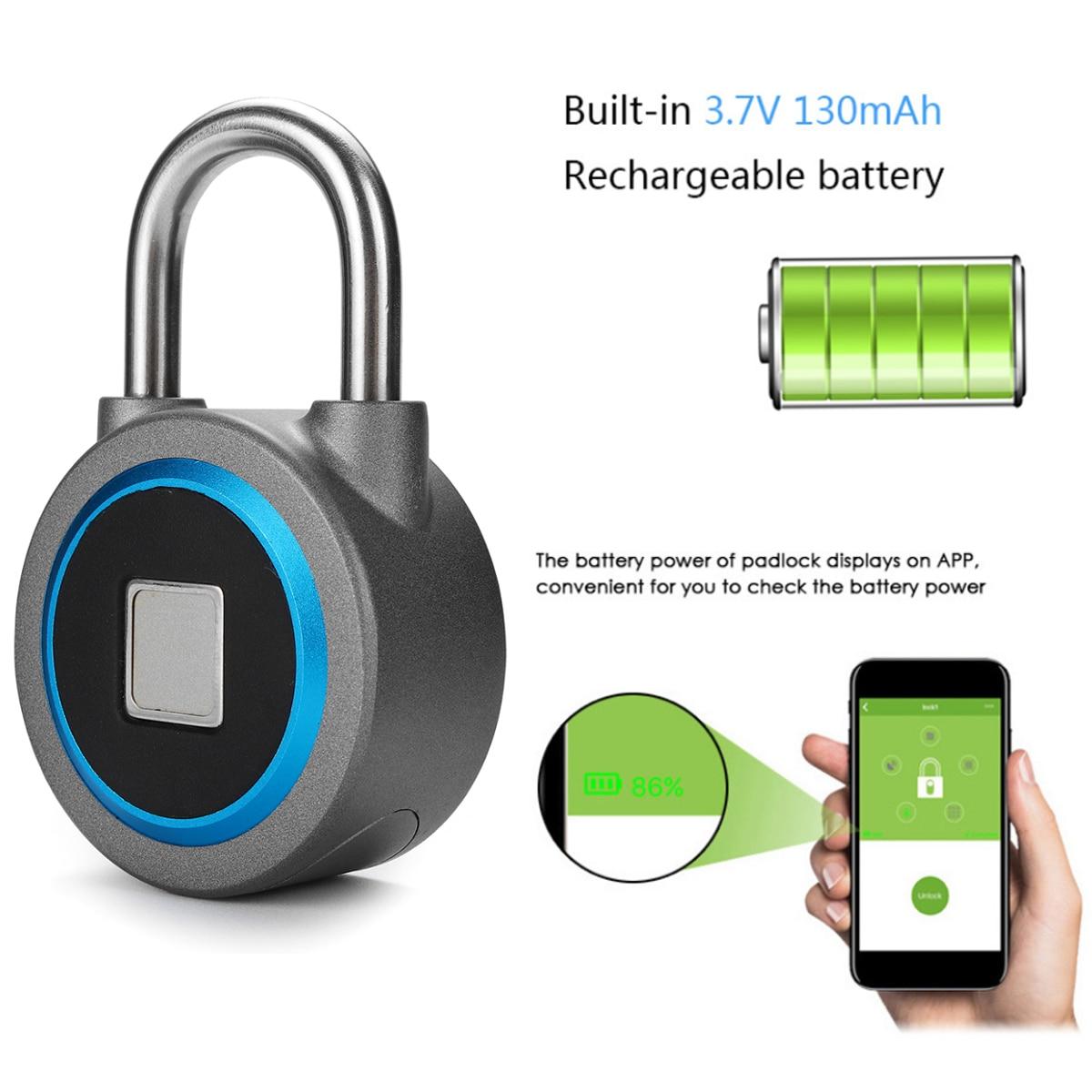 Fingerprint Recognition Bluetooth Keyless Lock – Waterproof 1