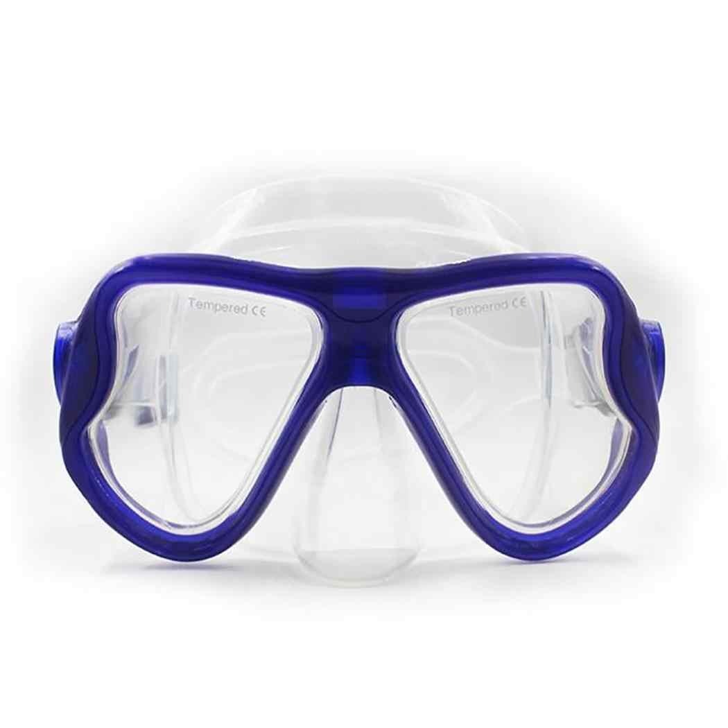 Mascarillas de buceo para lentes de miopía óptica gafas de silicona gafas de lectura de visión corta
