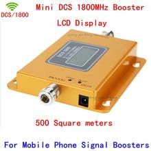 Mini 70dB LCD 2G 4G LTE GSM DCS 1800 MHz Téléphone portable Téléphone Mobile Répéteur de Signal Booster/Répéteur/Amplificateur + Power Chargeur