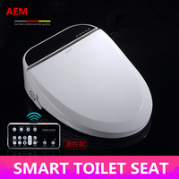 Smart Heated Toilet Seat WC Sitz Intelligent Water Closet Automatic Wash Dry Toilet Lid Cover Elongated Children Training Sit