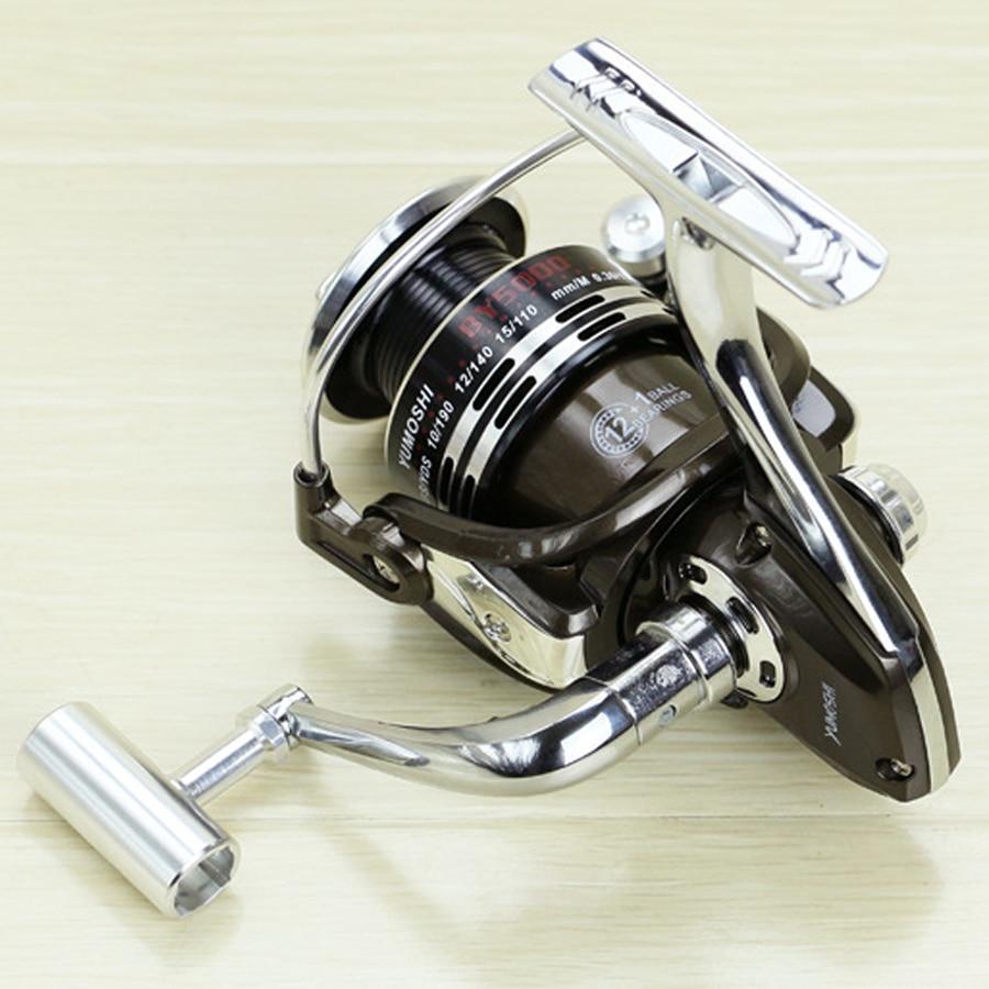 Új BY 3000 - 7000 Spinning orsó 5.5: 1 Zökkenőmentes 13BB teljes - Halászat - Fénykép 2
