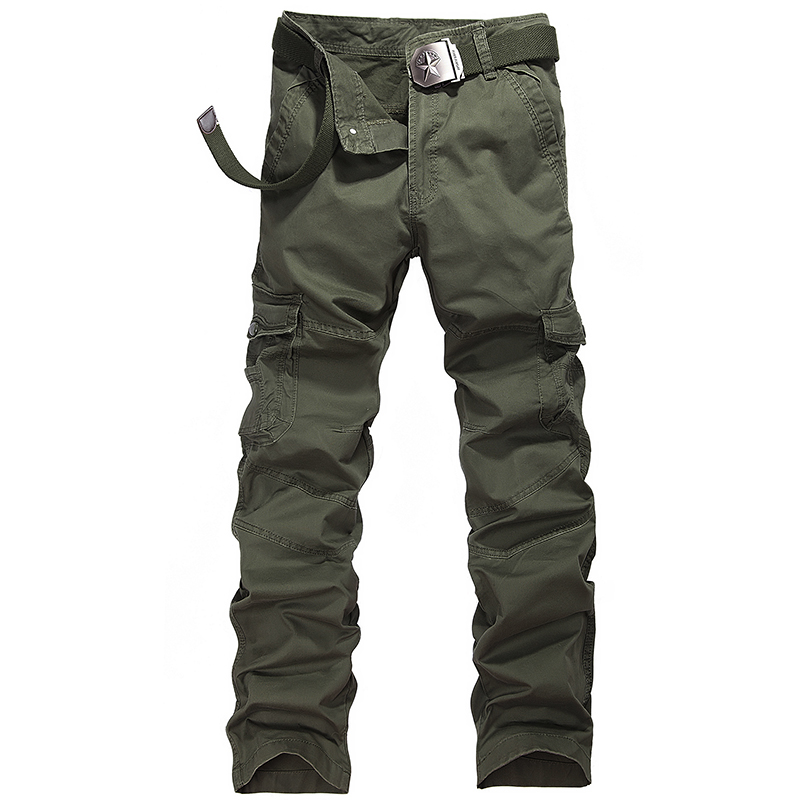 2017 New Fashion Cotton Comfortable Military Cargo Pant Multi-pocket Classical Quality Pantalones Militares Para Hombres