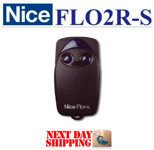 Nice Flor-s rolling code replacement garage door remote control 433 mhz free shipping after market avanti garage door remote control replacement opener transmitters with rolling code free shipping