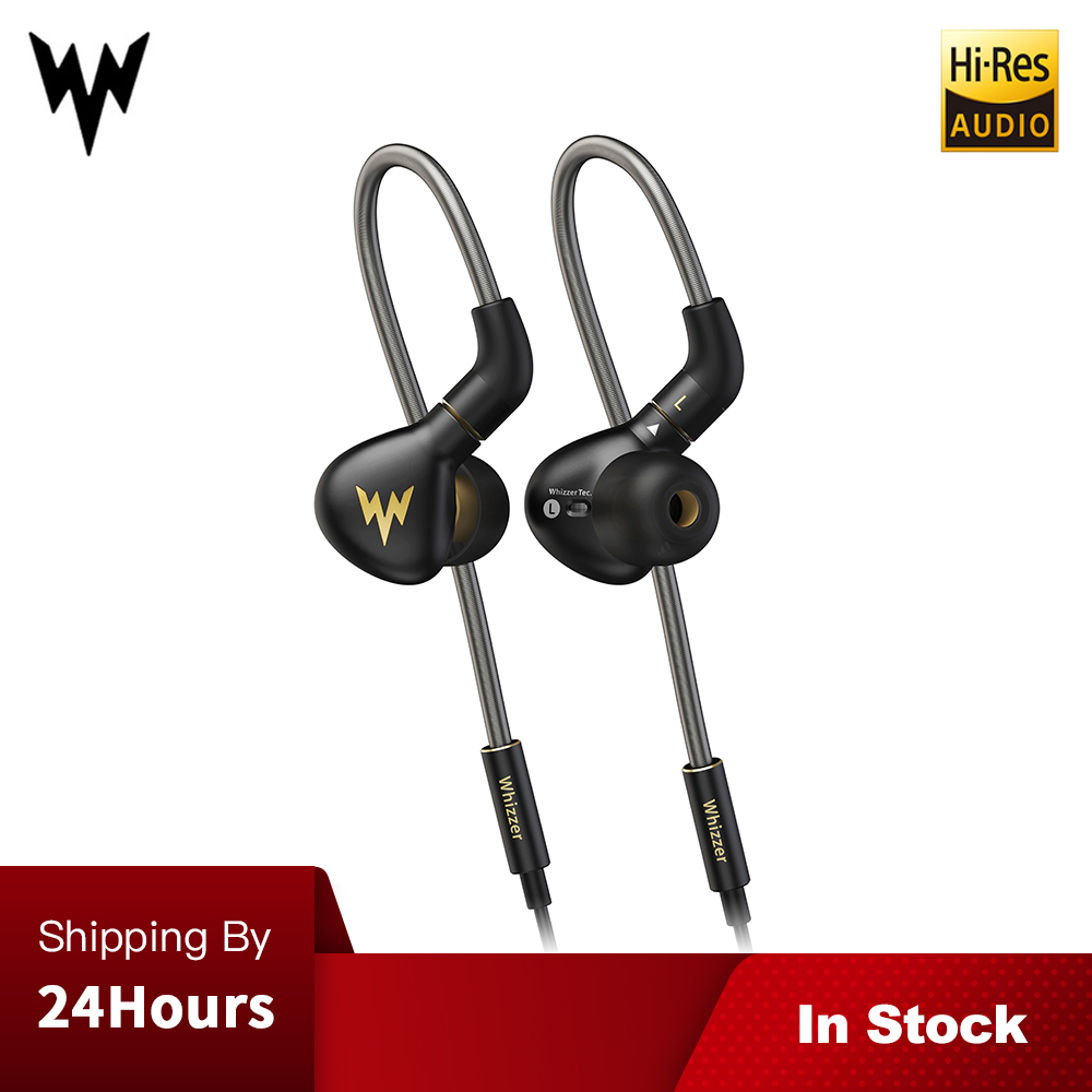 Whizzer A15 Pro HIFI Earphone 1DD Hybrid IEM Technology in ear types with MMCX replaceable cable