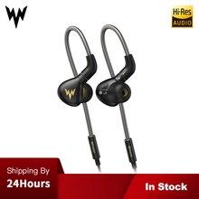Whizzer A15 Pro HiFi бас наушники металлические в ухо гарнитуры динамические Hi-res наушники с разъем MMCX 3,5 мм Спорт бас наушники