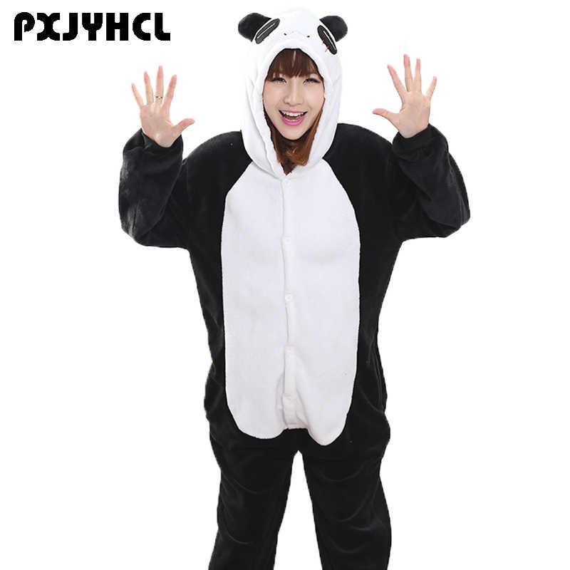 Кунг-фу панда Kigurumi Onesie для взрослых животных человек Для женщин  теплые мягкие стежка Пижама 4aec8fb3e2ec0