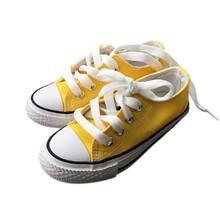 Canvas Children Shoes Sport Breathable Boys Sneakers Brand Kids for Girls Casual Child Flat Plus Size 22-38