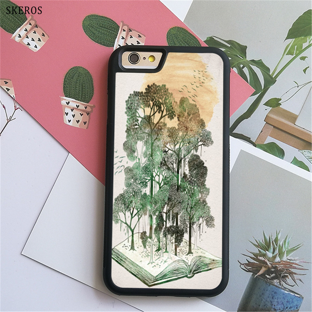 SKEROS Jungle Book phone case for iphone X 4 4s 5 5s 6 6s 7 8 6 plus 6s plus 7 & 8 plus #B375