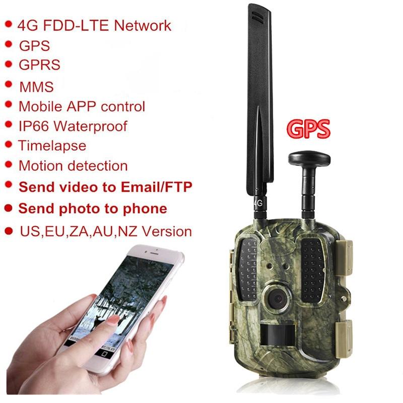 Newest GPS Hunting Camera Digital Video Camera Photo-Traps 4G FDD-LTE Hunting Trail Camera Trap Wild Camera Hunter Foto Chasse ftp (23)_