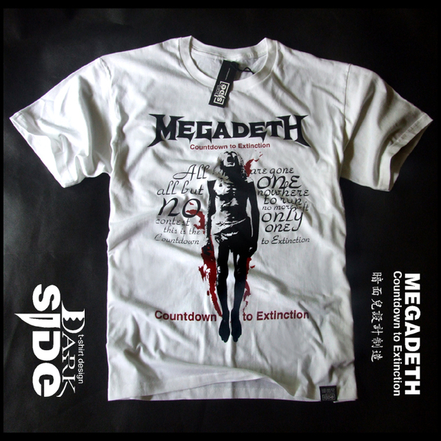 fbd198357 Rock t shirt megadeth band countdown to extinction-in T-Shirts from ...