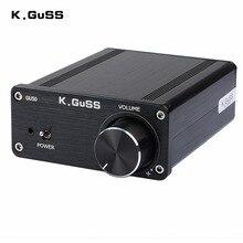 2017 NEW K.GuSS GU50 HIFI 2.0 class D TPA3116 Mini borne audio power amplifier amplificador 2 * 50W 3A DC12V and DC24V