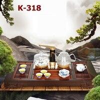 KAMJOVE K 318 венге чай лоток резьба по дереву сделать устройство для приготовления чая intelligent tea art плита комбинированный тип чайный набор