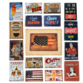 New 20 Colors Vintga Tin Signs Home Decor Club Bar Coffee House Painting Art Wall Decoration Metal Signs 20*30cm