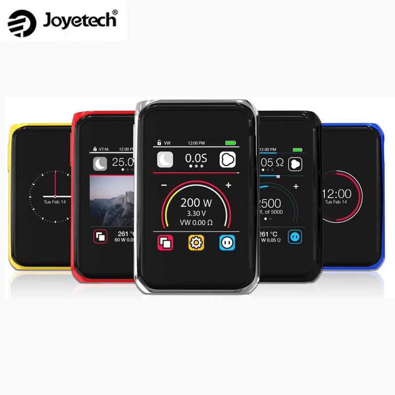 Original Joyetech Cuboid Pro 200W Box Mod Touch Screen TC 2 4 inch E Cigarettes MOD