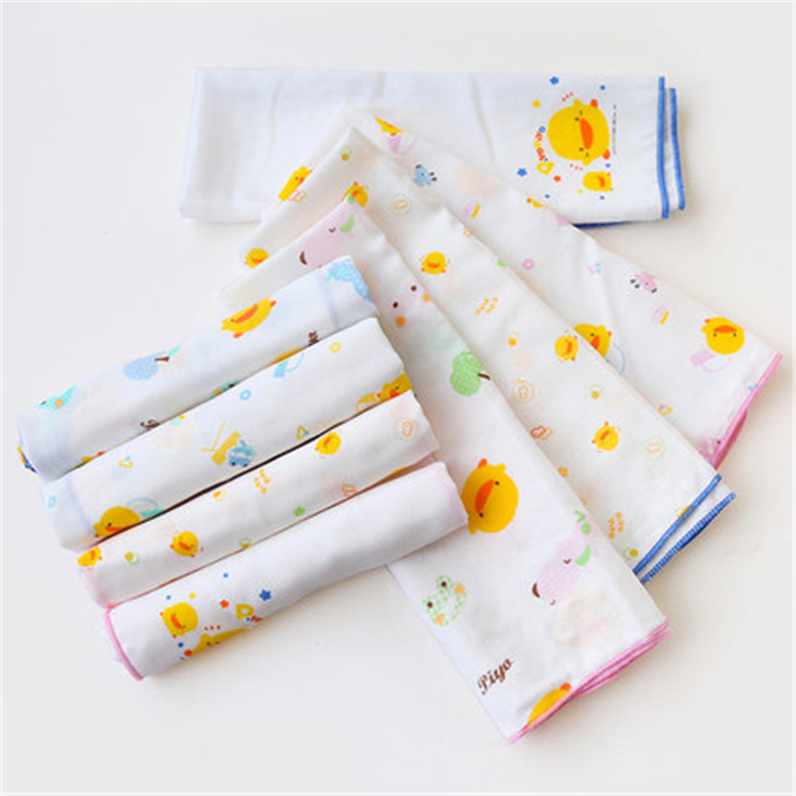 Cotton Newborn Gauze Wash Cloth 3 Natural High Quality 2 Pcs Wipe Feeding New Baby Towel Gift 70A0175