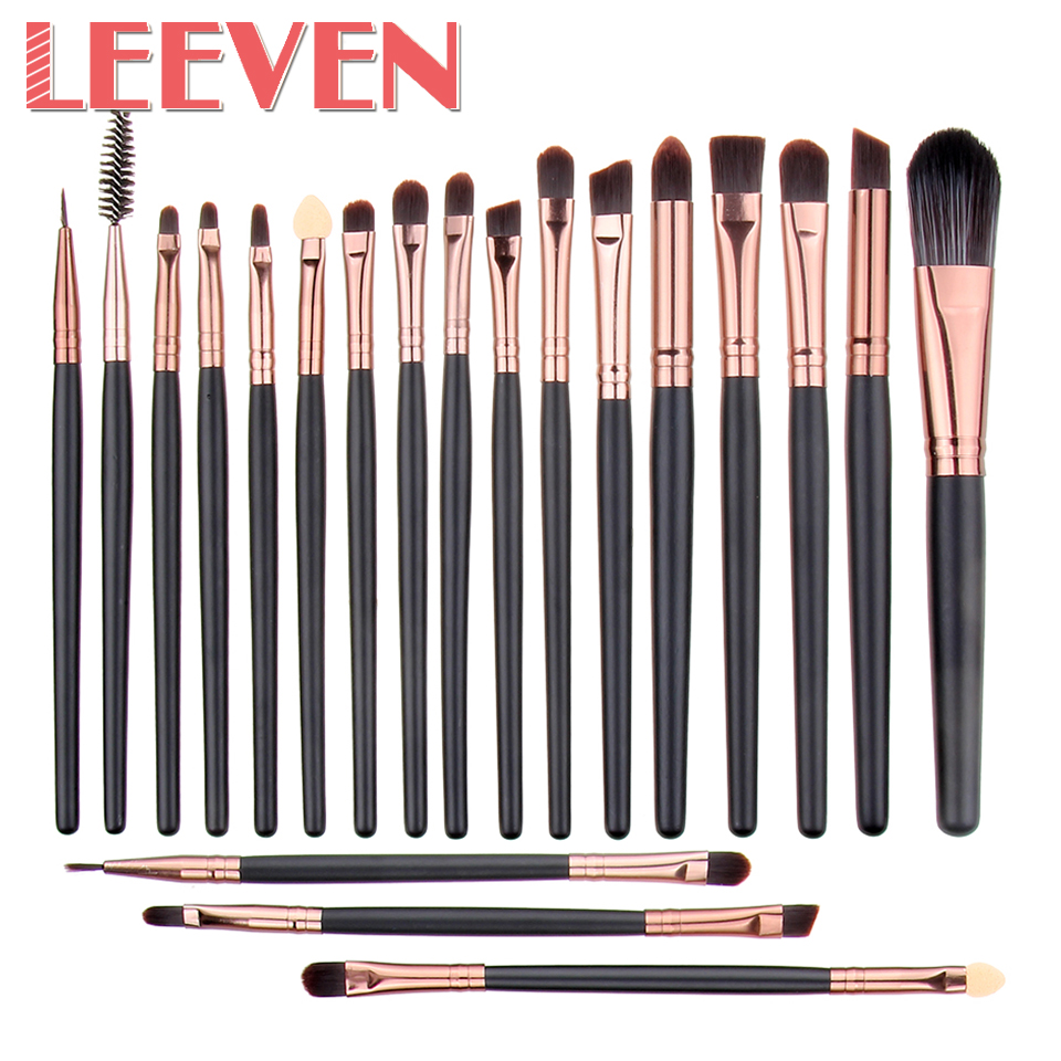 20pcs/Set Fashion Makeup Brush 22 Colors Professional Makeup Brushes&Tools Kit of cosmetic Wool Brand For Women Top Quality