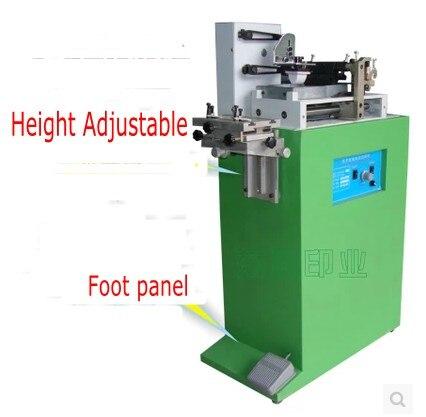 Électrique une couleur pad imprimante machine D'impression machine pour nombre date petit logo + plaque de cliché + caoutchouc pad
