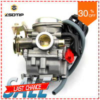 Clear stock ZSDTRP motor scooter 50cc 60cc 80cc engine carburetor carburator case for GY6 model ATV with power jet