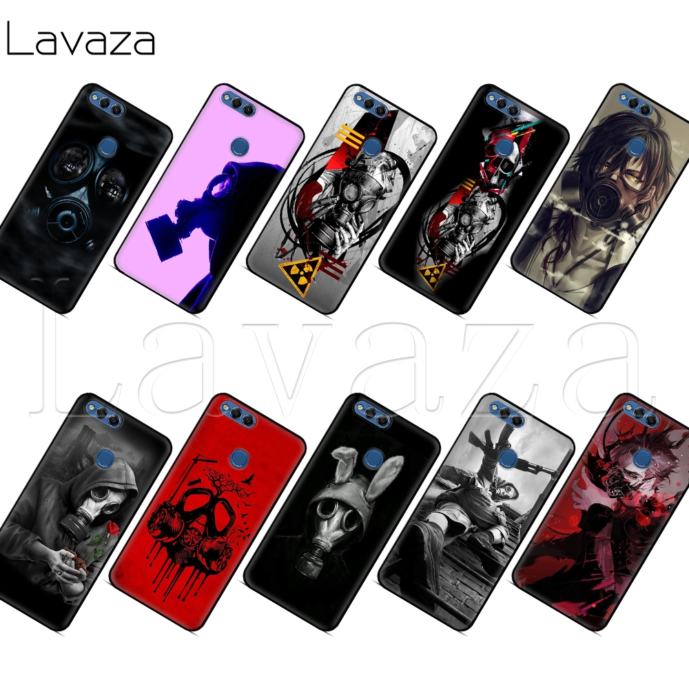 Phone Bags & Cases Lavaza Mask Anti Gas Men Silicone Case For Huawei P8 P9 P10 P20 Y6 Y7 Y9 Lite Pro P Smart Mini 2017 2018 Catalogues Will Be Sent Upon Request Half-wrapped Case