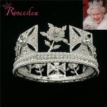 Тиара Корона королева в стиле барокко диадема для свадьбы конкурса