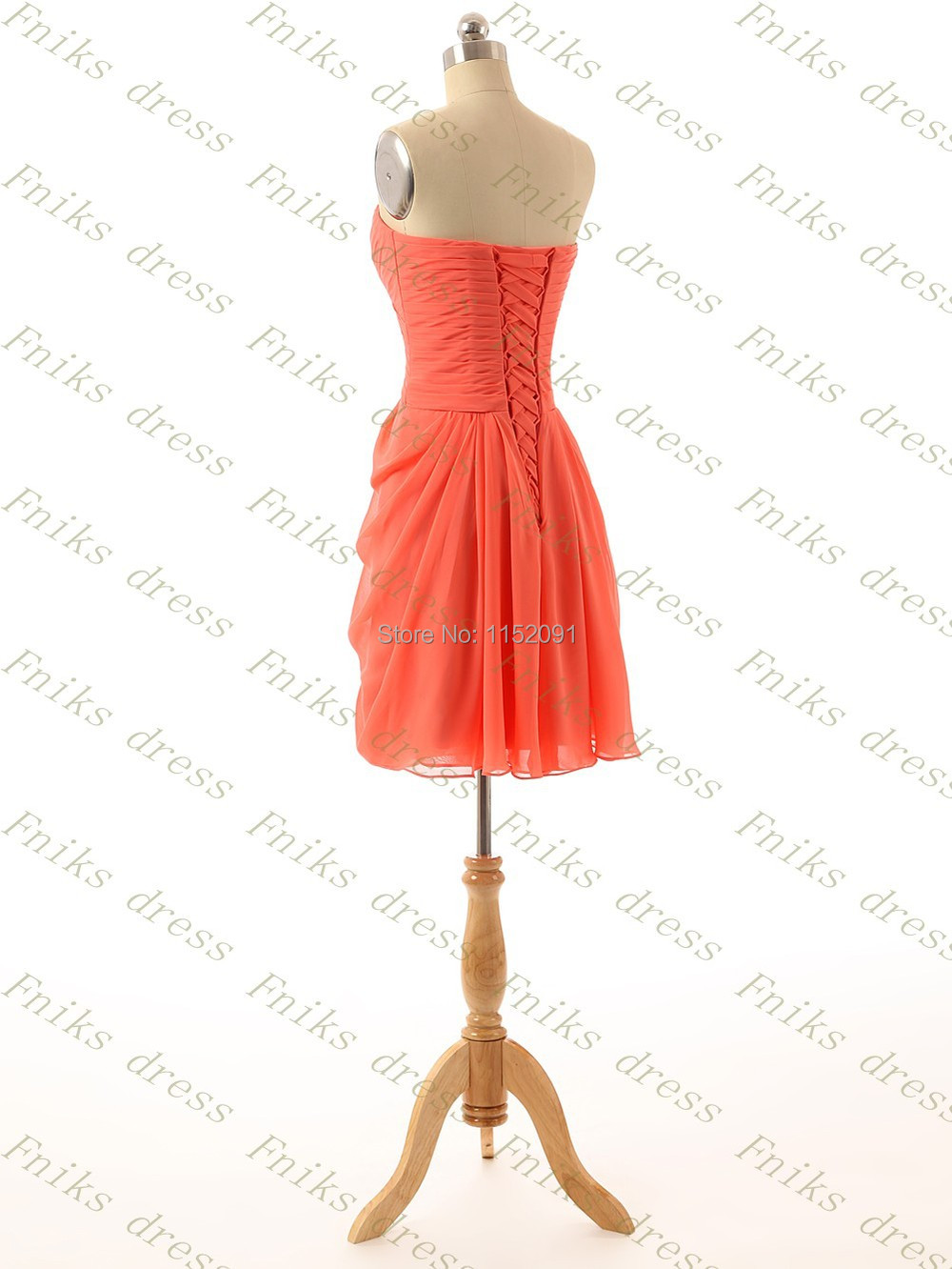 2016 cheap short coral bridesmaid dresses under 100 a line chiffon conewfnks 102 4g ombrellifo Image collections
