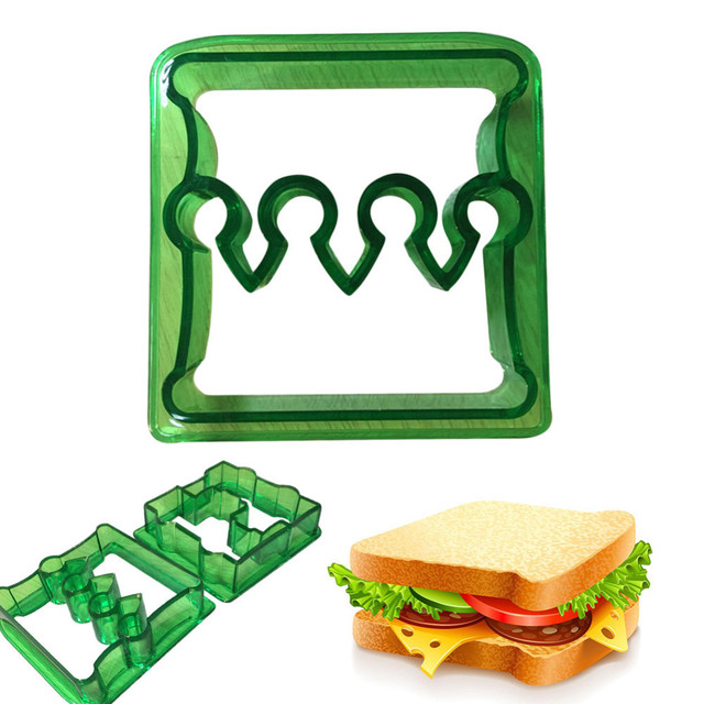 Crown Shaped Sandwich Cutter