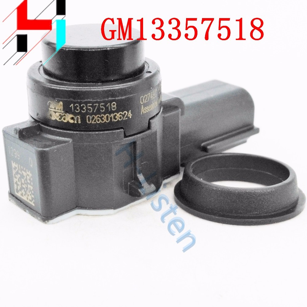 (4pcs)13357518 0263013624 Parking Sensor Distance Control Sensor Car Detector For GMC Chrysler Cadillac