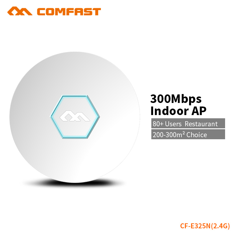все цены на COMFAST Ceiling Ap Router 300Mbps Wireless Wifi Router Access Point 300 Square Meters Coverage Support OpenWRT ddwrt CF-E325N онлайн