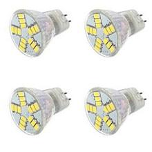 4 X HRSOD 6 W 15LED X SMD 5730 300-450 LM 2800-3500/6000-6500 K Warm White/Cool White MR11 Spot Lights AC 12 V 300 x 36 6 12 300x36