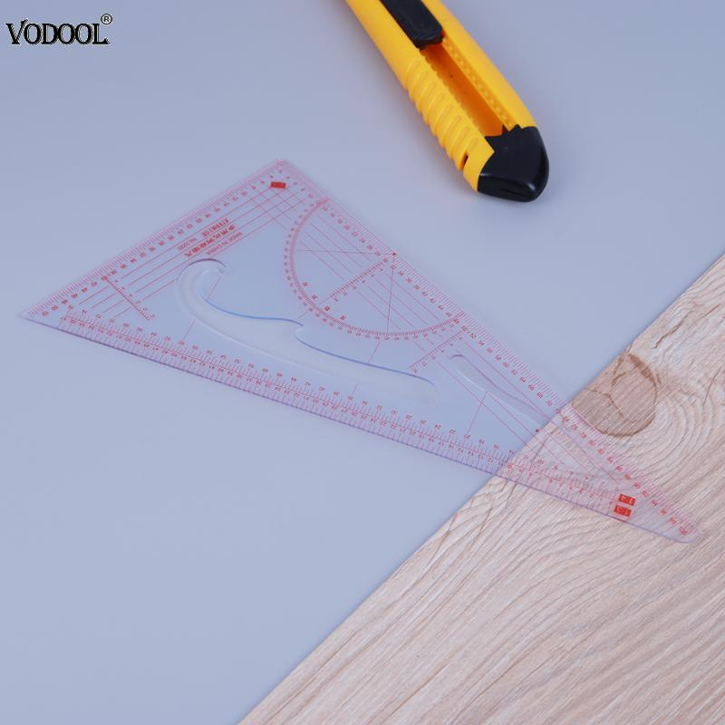1:3/1:4/1:5 Drawing Painting  Plate Making Ruler Sewing Patchwork Tool Triangle Ruler School Educaction Stationery Supplies