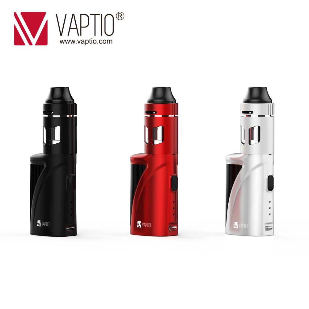 Vapor vaporizer e cigarette Vaptio 1300mAh P1 Mini S Kit built in vape mod 50W Vape KIT 2.0ML evaporator atomizer 0.15ohm coil