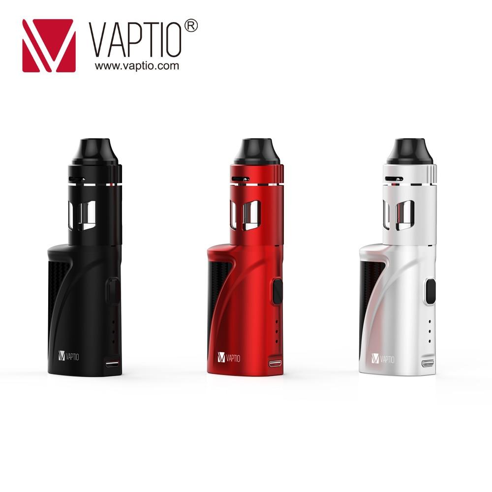 Vapore vaporizzatore e sigaretta Vaptio 1300 mah P1 Mini S Kit costruito in vape mod 50 w Vape KIT 2.0 ml evaporatore atomizzatore 0.15ohm bobina