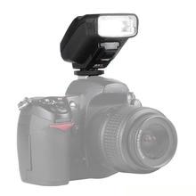 Viltrox jy610 ii universal de la cámara, mini flash speedlite flash para cámaras dslr nikon d3300 d5300 d7100 para canon 5d mark