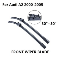 Car Accessories Auto Windscreen Wiper Blade For Audi A2 2000 2005 Fit Windshield Natural Rubber Wipers