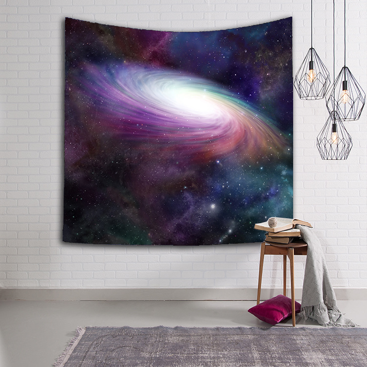 Starry Sky Stars Thin Mandala Tapestry Beach Table Cloth Blanket Scenery home decor Wall Tapestry Hanging Tapete tapiz pared in Tapestry from Home Garden