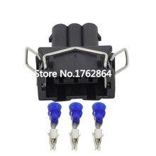 5PCS 3-hole connector sheath 3.5 series car with terminals DJ7032A-3.5-21