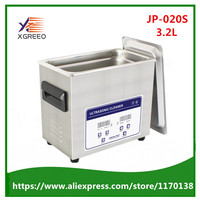 JP 020S 3.2L Digital Ultrasonic Cleaner Cleaning Machine Baskets Jewelry Watche Dental Ultrasound Cleaner Mini Ultrasonic Bath