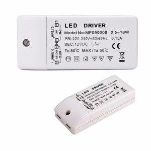 Image 4 - Trasformatore driver led 50w 30w 18w 12w 6w dc 12V uscita 1A alimentatore adattatore di alimentazione per lampada a led striscia led downlight