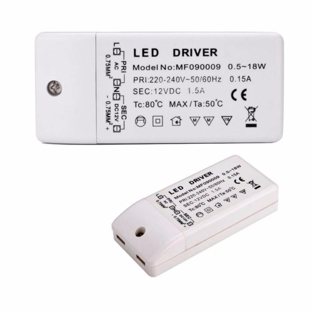Image 4 - led driver transformer 50w 30w 18w 12w 6w dc 12V output 1A Power Adapter Power supply for led lamp led strip downlight-in Lighting Transformers from Lights & Lighting